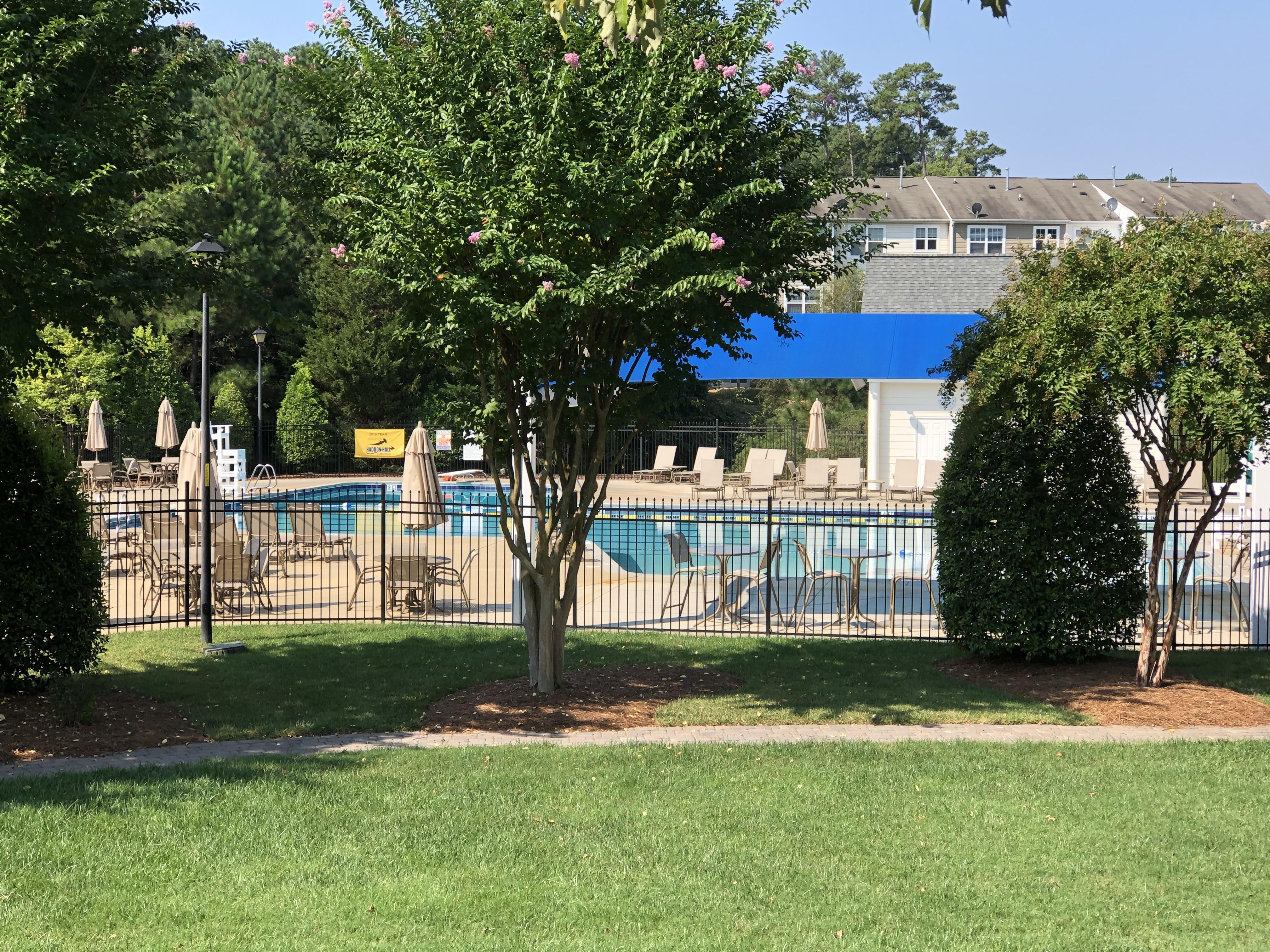 Haddon Hall pool