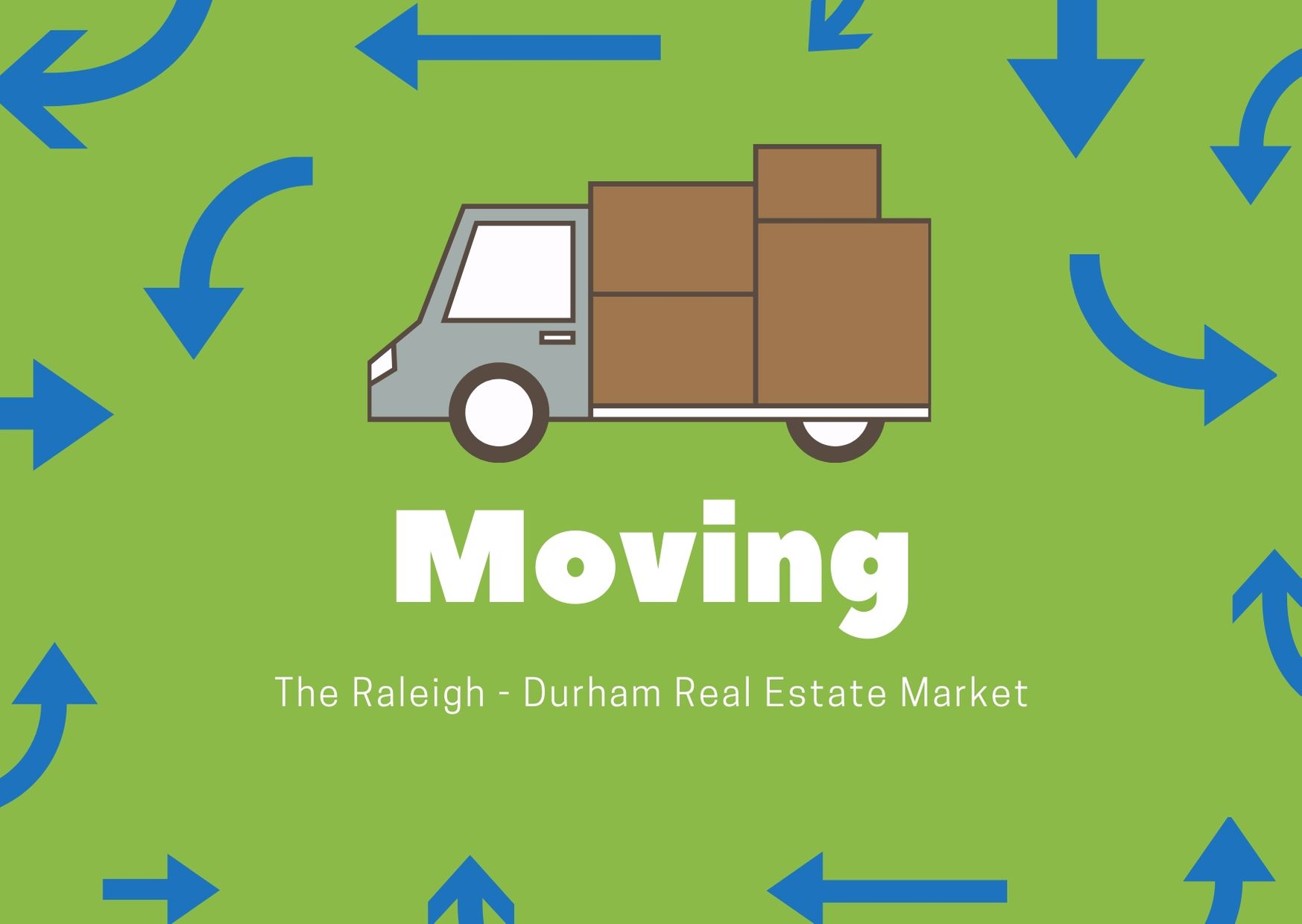Moving truck going to Raleigh