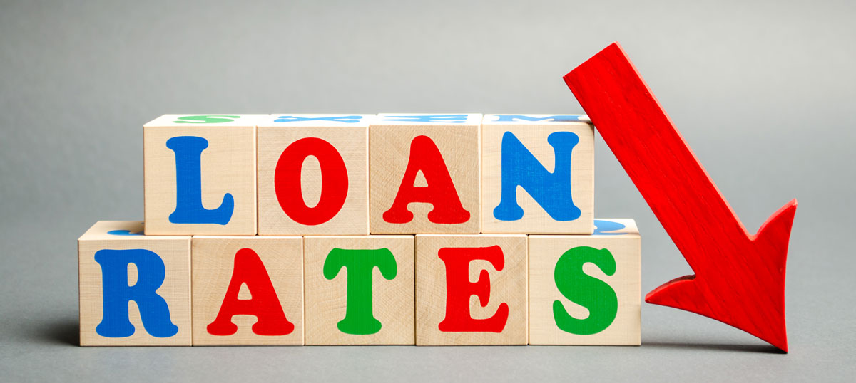 loan rates are going down