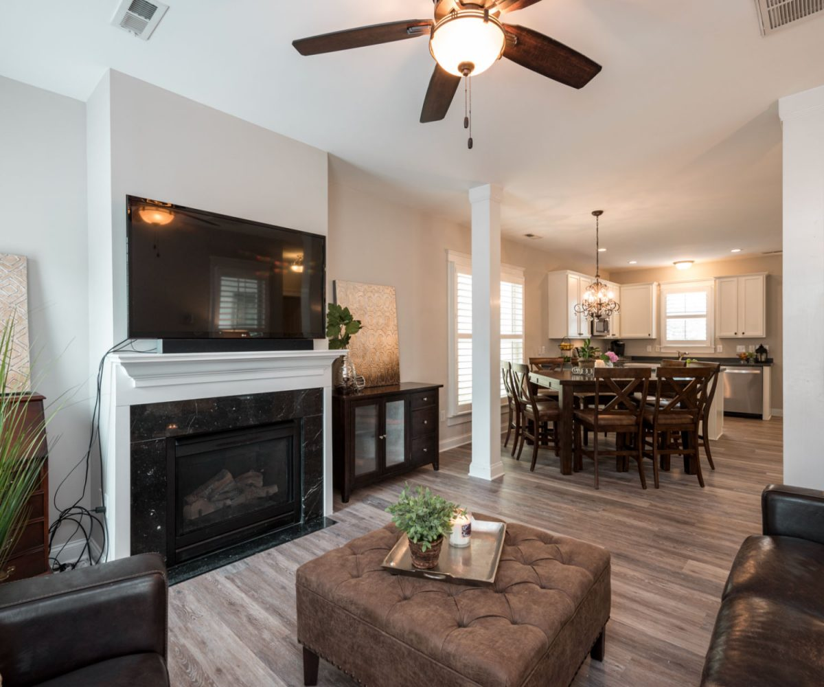 Fire place Cary Park home for sale