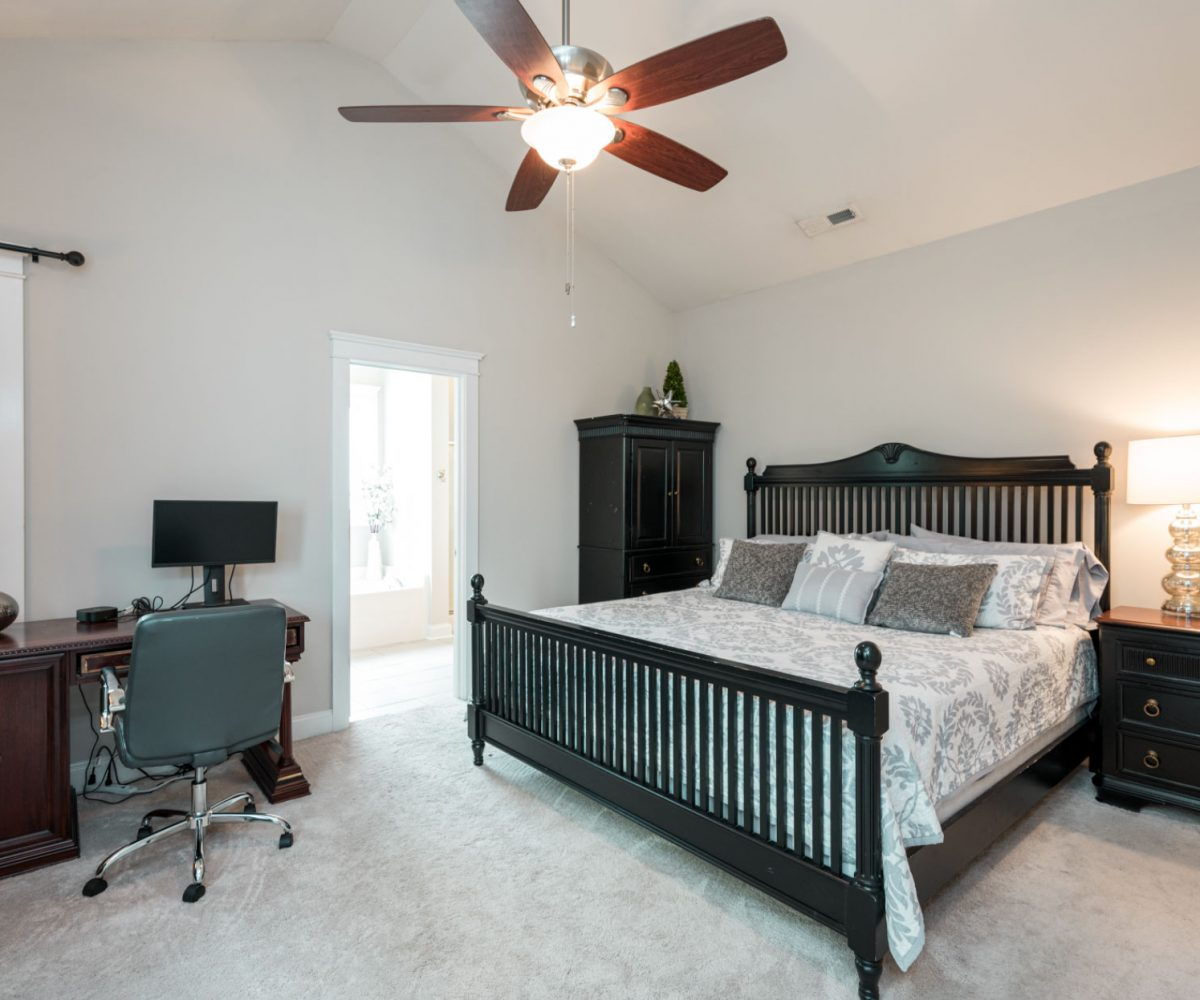 1st floor master in Cary Park